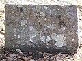 Dog's gravestone in Gothenburg, Sweden.jpg