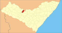 Location in Alagoas