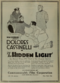 Dolores Cassinelli in The Hidden Light Film Daily 1920.png