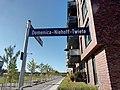 Domenica-Niehoff-Twiete in HH-Altona-Nord Straßenschild.jpg