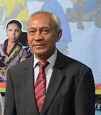 Brazil–East Timor relations - E. Domingos Francisco J. de Sousa, ambassador of East Timor to Brazil (2016)