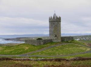 Doonagore Castle - Doonagore Castle, overlooking Doolin and the Atlantic Ocean
