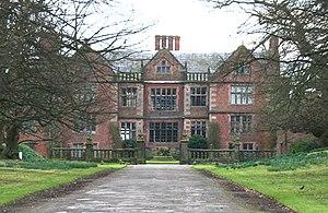 Dorfold Hall - Dorfold Hall: main (front) façade