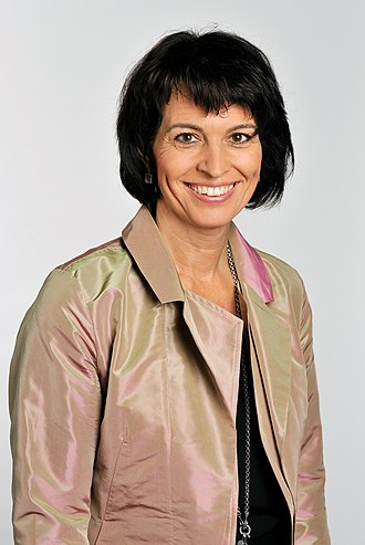 Swiss Federal Council election, 2007 - Image: Doris Leuthard, 2010