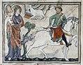 Douce Apocalypse - Bodleian Ms180 - p.013 First Horseman.jpg