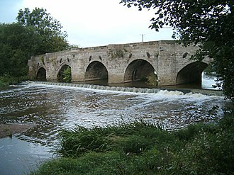 Doveridge - Image: Dove bridge 231394 40b 11970