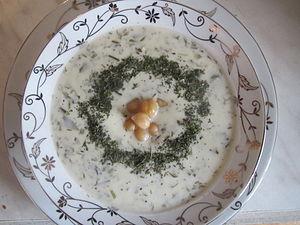 Azerbaijani cuisine - Dovga