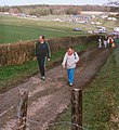 Downland Track Leading to Charlton Forest, West Sussex - geograph.org.uk - 36780.jpg