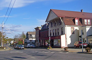 Amenia (CDP), New York - East Main Street, downtown