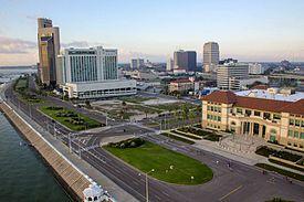 Downtown Corpus Christi-urbosilueto