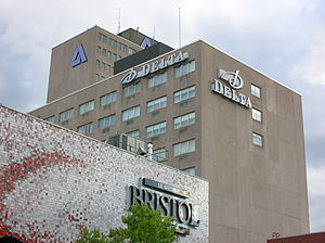 Hotel Beauséjour - Image: Downtownmoncton