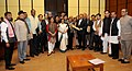 Dr. Jitendra Singh with members of Parliament from the North East Region.jpg