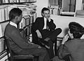 Dr Asher Tropp with students, 1964.jpg