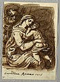 Drawing, Madonna and Child with St. Joseph, 1816 (CH 18124229).jpg