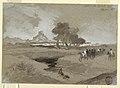 Drawing, Waterhole in the Desert, Utah, 1873 (CH 18189569).jpg