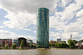 Dresdner Bank Tower with river Main - Frankfurt - Germany - 05.jpg