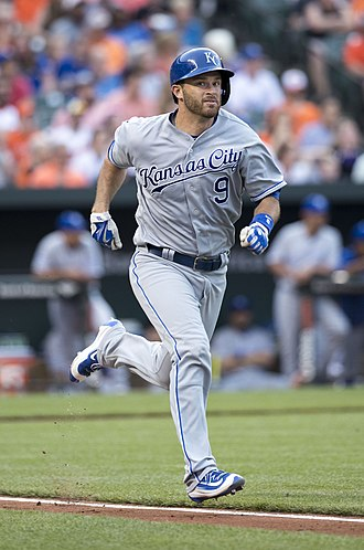 Drew Butera - Butera with the Kansas City Royals in 2016