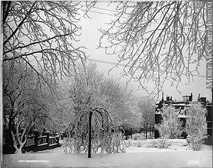 Drummond Street, Montreal - Drummond Street, 1895