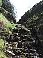 Dry waterfall Near Black Knowe - geograph.org.uk - 802525.jpg