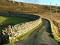 Drystane Dyke at Cuidrach - geograph.org.uk - 639632.jpg