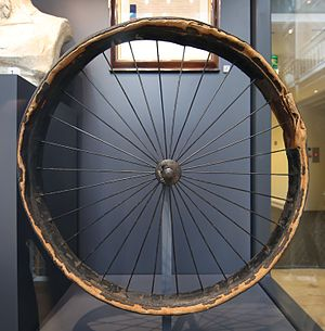 John Boyd Dunlop - Dunlop's first pneumatic bicycle tyre National Museum of Scotland