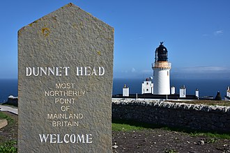 """Dunnet Head - """"Most northerly point of mainland Britain."""""""