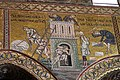 Duomo di Monreale, interno, mosaici con storie bibliche. Torre di Babele. - panoramio.jpg