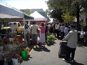 English: The Dupont Circle Farmers Market,