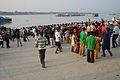 Durga Idol Immersion Gathering - Baja Kadamtala Ghat - Kolkata 2012-10-24 1750.JPG