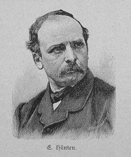 Emil Hünten German artist