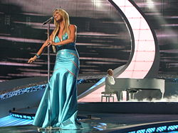2008 Eurovision Song Contest Semifinal performance