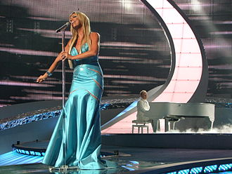 Poland in the Eurovision Song Contest - Image: ESC 2008 Poland Isis Gee, 1st semifinal