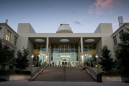 The Eyring Science Center on the campus of Brigham Young University in Provo, Utah ESC Eyring Science Center.jpg