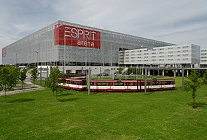 ESPRIT arena in Düsseldorf-Stockum, Germany
