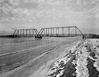 National Register of Historic Places listings in Sweetwater County, Wyoming - Image: ETR Big Island Bridge
