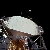 Earth over Apollo 11 Lunar Module.jpg