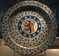 Earthenware Dish, Valencia, 1430-1460 (5622615781).jpg