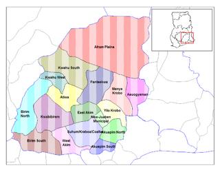 Afram Plains District Former District in Ghana
