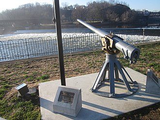 Driggs-Schroeder - Driggs-Schroeder 6-pounder gun preserved in Easton, Pennsylvania.