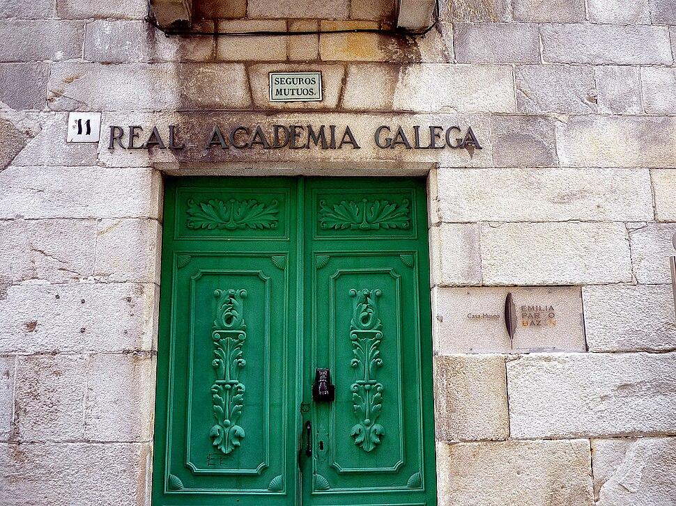 Edificio da Real Academia Galega, A Coruña