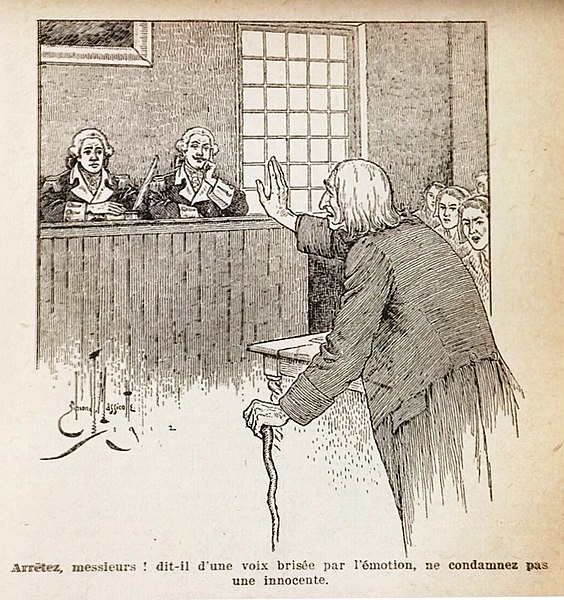 File:Edmond J Massicotte - Joseph Corriveau before the court - Une relique by Louis Frechette.jpg