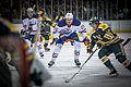 Edmonton Oilers Rookies vs UofA Golden Bears (15088758998).jpg