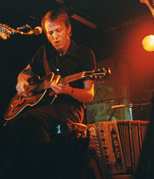 David Eugene Edwards of 16 Horsepower performing live in 1998.