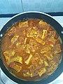 Egg Breads with Fish curry Juice (చెపల పులుసు తొ ఎగ్గ్ కర్రి).jpg