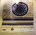 Egitto, angolo di uno scialle o di una tappezzeria, lino e lana, 390-540 ca..JPG
