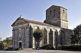 François, Prince of Soubise - Église Saint-Pierre, Soubise, Charente-Maritime, 2006