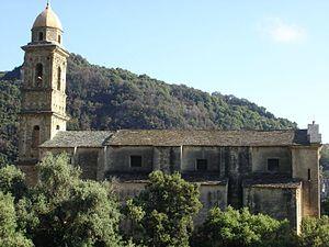 Farinole - The church in Farinole