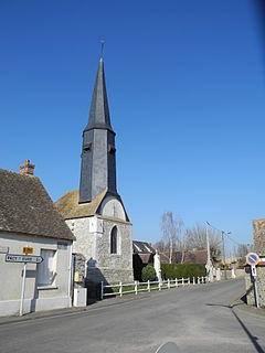 Fains Commune in Normandy, France