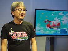 Eiji Aonuma at E3 2013 3.jpg