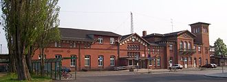 Halle–Cottbus railway - Eilenburg station